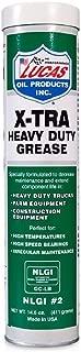 Lucas Oil 10301 X-Tra Heavy Duty Grease- 14.5 oz. (Quantity 6)