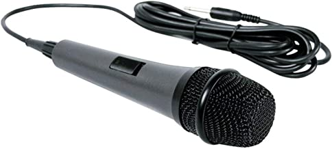 Dynamic Microphone Singing Machine SMM-205 Unidirectional with 10 Ft. Cord (Renewed)