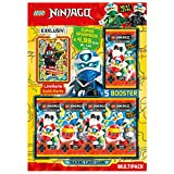 LEGO Ninjago Serie V Next Level, Multipack, 5 Booster y Carta Dorada de edición Limitada (Top Media 180989)