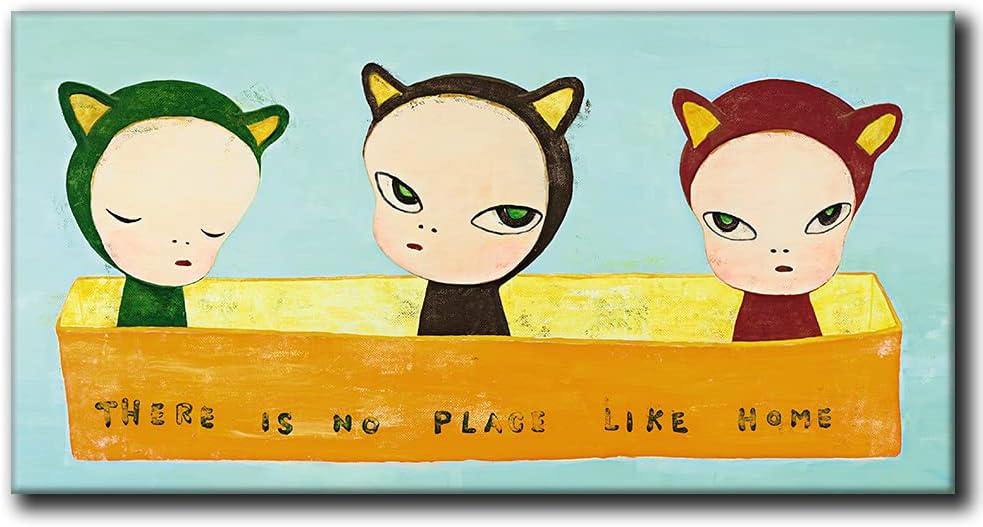 Yoshitomo Max 69% OFF Nara Direct store Poster Cartoon Wall Art Vin Cute Anime Characters