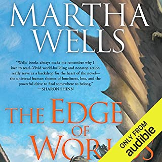 The Edge of Worlds                   Written by:                                                                                                                                 Martha Wells                               Narrated by:                                                                                                                                 Christopher Kipiniak                      Length: 16 hrs and 59 mins     4 ratings     Overall 4.5
