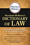 Merriam-Webster's Dictionary of Law, Newest Edition, 2016 Copyright
