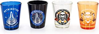 Exclusive Call of Duty: Infinite Warfare Shot Glasses | Collector's Set of 4 | 2 FL Oz.