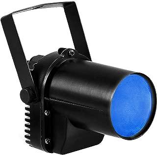 【Early Black Friday】3W Blue LED Spotlight, LED Pinspot Light Stage Beam Light, DJ Ball Light For KTV Bar Party Lighting