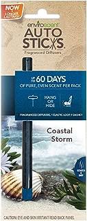 Enviroscent 01077-036 Coastal Storm Autosticks Car Air Freshener - 2 per Pack