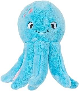 ZippyPaws - Grunterz Grunting Plush Large Dog Toy - Oscar The Octopus