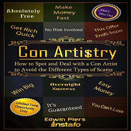 Con Artistry audiobook cover art
