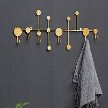 Pat/ères Portemanteaux Porte-manteau Mural Crochets De Mur Porte Crochets Iron Art Shelf Creative Simple Cl/é De Chambre Cactus GAOFENG Couleur : Or, taille : 43.5 * 4.5 * 17.5cm