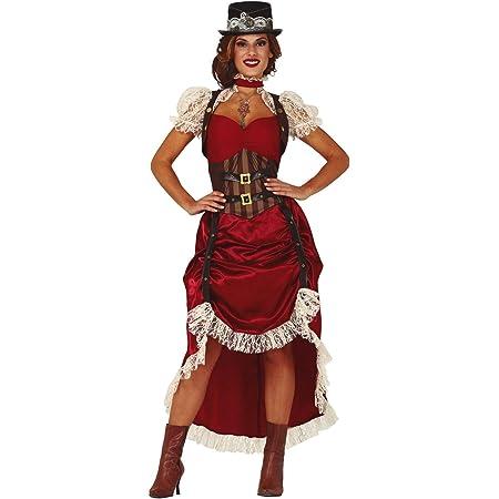 Details about  /Cowgirl Wild West Women/'s Costume Western Ladies Fancy Dress Revolverlady Ellen