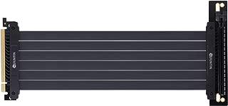 Funtin PCI-E 3.0 x16 Extension Riser Cable, PCI Express Flexible High Speed GPU Riser Extender Card Adapter (20CM, 90°)