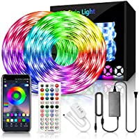 Arkochic RGB Color Changing 65.6FT/20M Smart LED Lights Strip