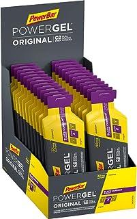 PowerBar PowerGel Original Black Currant 24 x 41 g - High Carb Energy Gel + C2MAX + Natrium + 50 mg cafeïne
