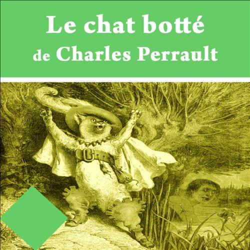 Le chat botté audiobook cover art