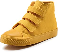 Boy's Girl's High-Top Casual Strap Canvas Sneaker(Toddler/Little Kid/Big Kid)