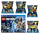 Lego Dimensions Starter Pack + The Simpsons Homer Simpson Level Pack + Bart Simpson Fun Pack + Scooby Doo Team Pack + The Wizard Of Oz Fun Pack Playstation 4 PS4