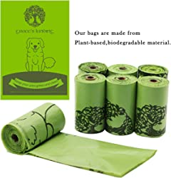 Grace s Landing Compostable Dog Poop and cat Litter Bags