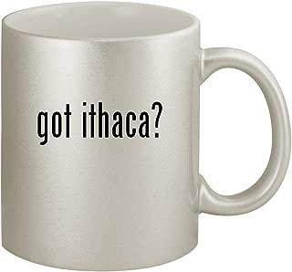 got ithaca? - Ceramic 11oz Silver Coffee Mug, Silver