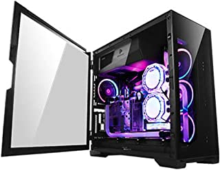 Antec Performance Series P8 Mid-Tower - Carcasa para PC con Jaula para Disco Duro sin Herramientas, Panel Lateral de Vidrio Templado