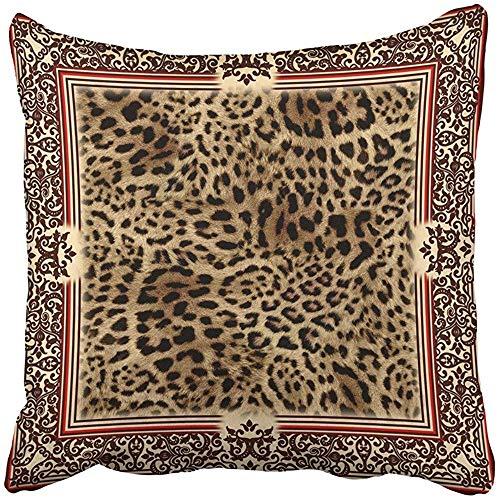 SSHELEY kussenslopen Cases Wild Leo Patroon van met luipaard huid Panter Sjaal Dier met Camouflage Kussenslopen Case Cover Kussen