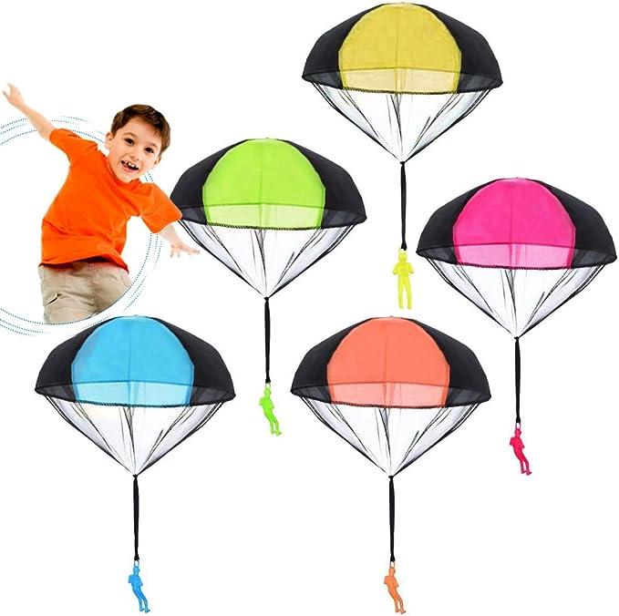 342 opinioni per Giocattoli Paracadute 5 Pezzi Giocattolo Paracadutes Colori Assortiti Ottimo