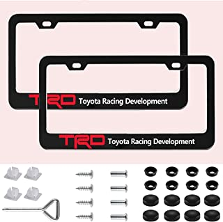 Best trd off road license plate frame Reviews