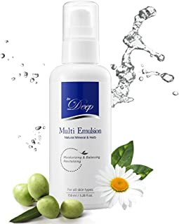 Dr.Deep Multi Emulsion (5.28 fl.oz) | Natural Face Moisturizer for Dry Skin | Face Cream | Redness Relief for Face | Daily...