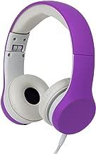 Snug Play+ Kids Headphones Volume Limiting and Audio Sharing Port (Purple)