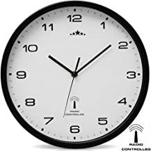 Reloj de Pared Radiocontrolado Reloj de Cuarzo Analógico 31