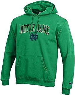 Elite Fan Shop Notre Dame Fighting Irish Hoodie Sweatshirt Arch Kelly Green