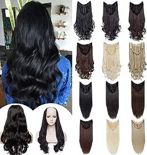 Best half head wigs real hair Reviews