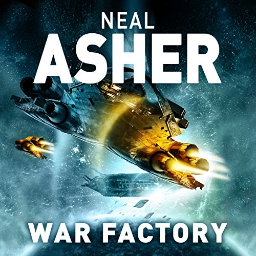 War Factory audiobook cover art