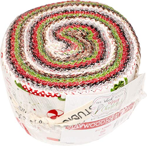 Maywood Studio We Whisk You a Merry Christmas! Jelly Roll by Kim Christopherson ST-MASWYMC