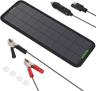 【2020年7月からバーションアップ】 ALLPOWERS カーソーラーチャージャー 18V 7.5W SunPower高効率ソーラーパネル 自動車 オートバイ トラクター ボート ソーラー充電器 メンテナ対応