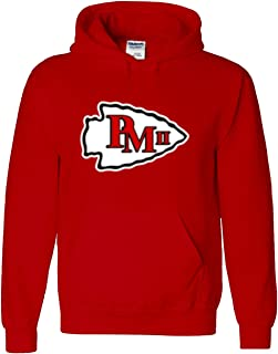 The Silo RED Kansas City Mahomes Logo Hooded Sweatshirt