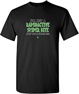 Feelin Good Tees Radioactive Spider Greatness Adult Humor Graphic Novelty Sarcastic Funny T Shirt