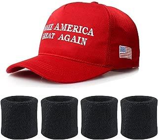 Donald Trump USA Cap Adjustable Baseball Hat Red kaifongfu Make America Great Again Hat