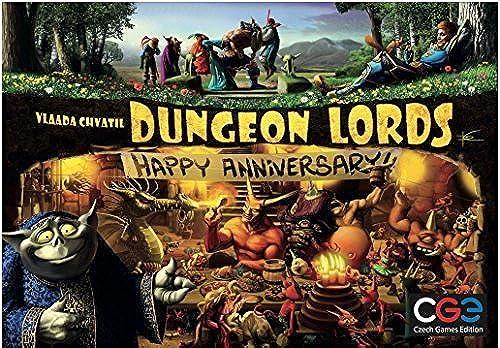 las mejores marcas venden barato Dungeon Lords Lords Lords  Happy Anniversary by Czech Games  ordene ahora los precios más bajos