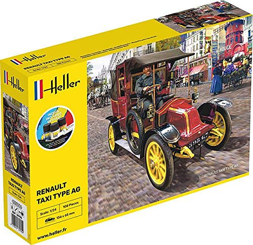 DataPrice Heller 30705 - Maqueta Taxi Antiguo Taxi Type AG - Escala 1:24