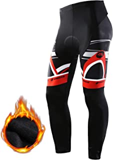 sponeed Cycling Long Tights Leggings Biking Pants with Padding UV Proof
