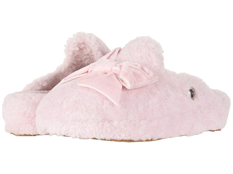 UGG Addison Velvet Bow Slipper (Seashell Pink) Women