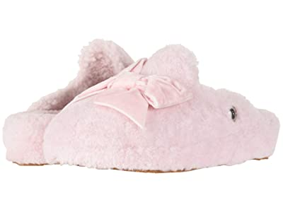 UGG Addison Velvet Bow Slipper (Seashell Pink) Women