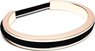 Maria Shireen: Classic Design Hair Tie Bracelet - Stainless Steel Hair Tie Holder - Functional Fashion Accessory - Keeps Track of Hair Ties - Comfortable and Stylish