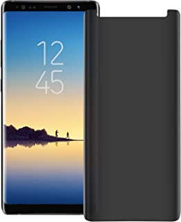 Galaxy Note 9 Privacy Screen Protector, SPCOE 2-Way Anti Spy Defender 9H Hardness Case Friendly Anti Peeking Tempered Glass Screen Protector for Samsung Galaxy Note 9(Transparent)