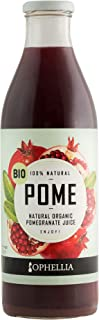 Ophellia 100% Natural Organic Pomegranate Juice 1 Litre