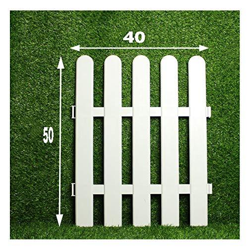JIANFEI-weilan Gartenzaun Steckzaun Leitplanke Landschaft Rasen Wasserdicht PVC 13 Größen, 3 Arten (Color : 1pcs, Size : 40x50cm)
