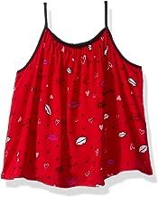 Calvin Klein Toddler Girls' Lip Print Tank