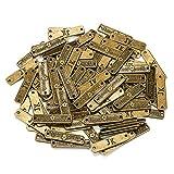 Oumezon Lot de 100 Boutons Faits Main en métal Faits à la Main pour la Fabrication de Bijoux et Les Loisirs créatifs, la...