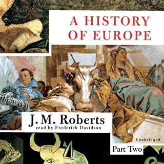A History of Europe audiobook cover art