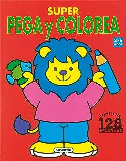 Super Pega Y Colorea -2 (Súper Pega Y Colorea)