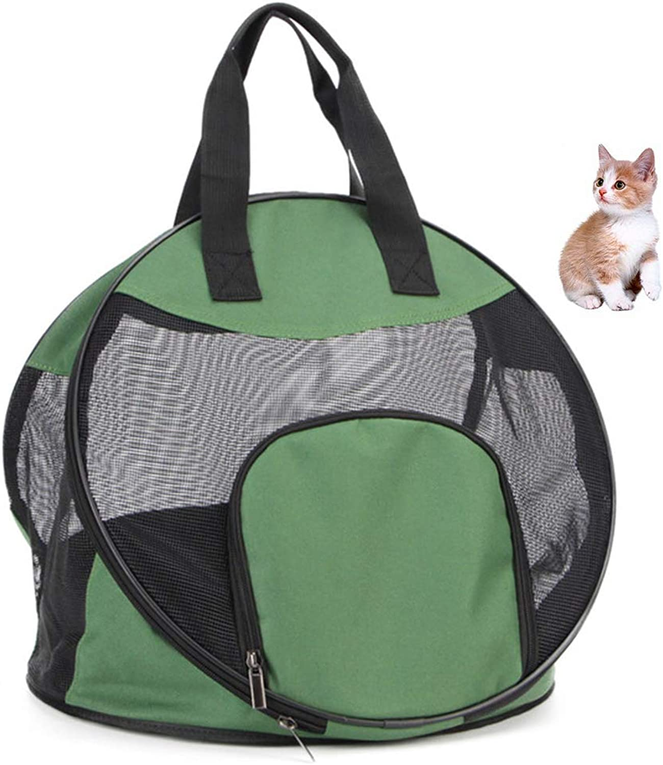 Cat Carrier,Comfortable Pet Backpack,Cat Bag Out Portable Folding Bag Cat Dog Bag Dog Travel Bag for Small Cat Pet Product Cozy Puppy Handbag